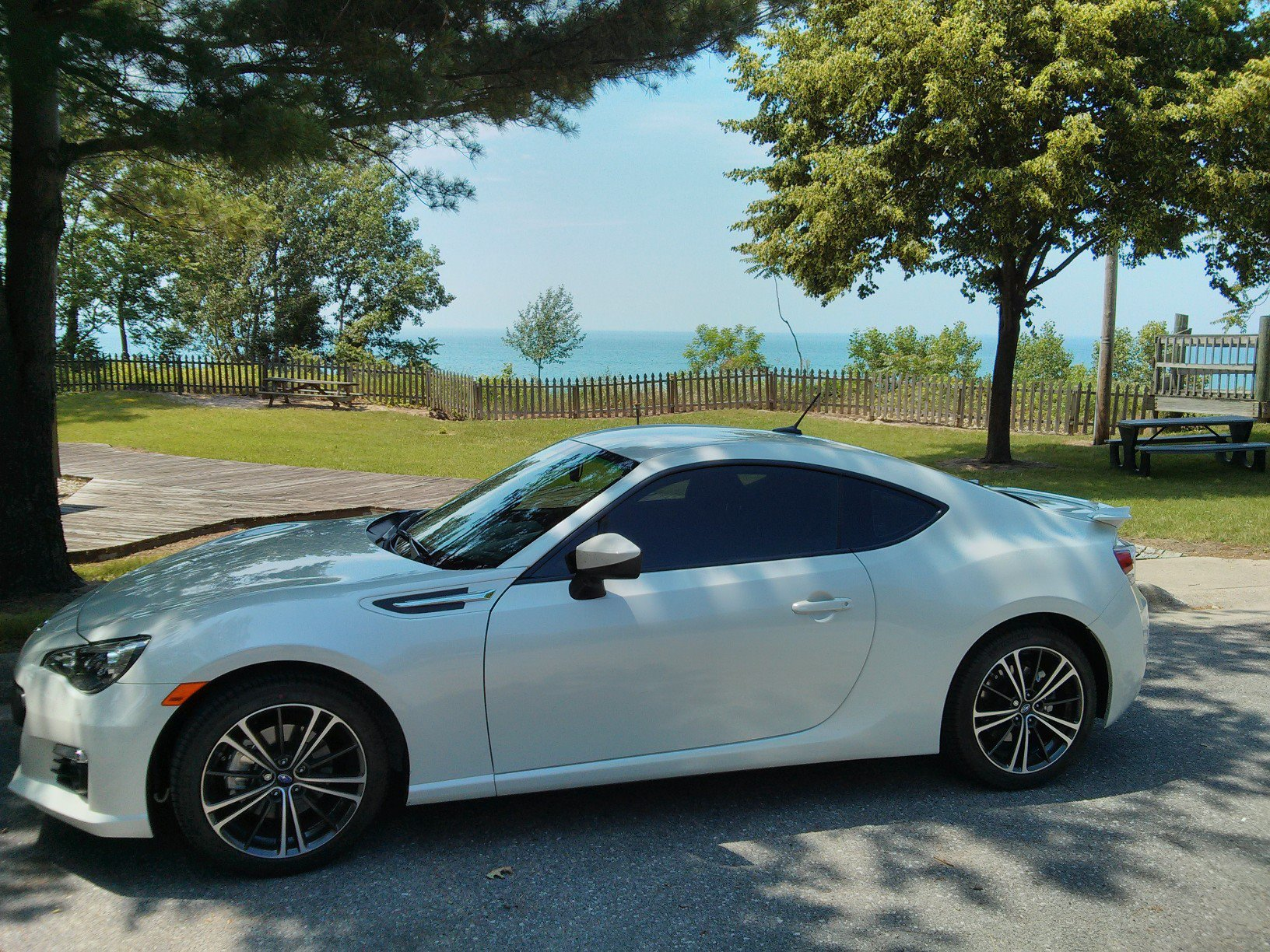 BRZ at Lake Michigan