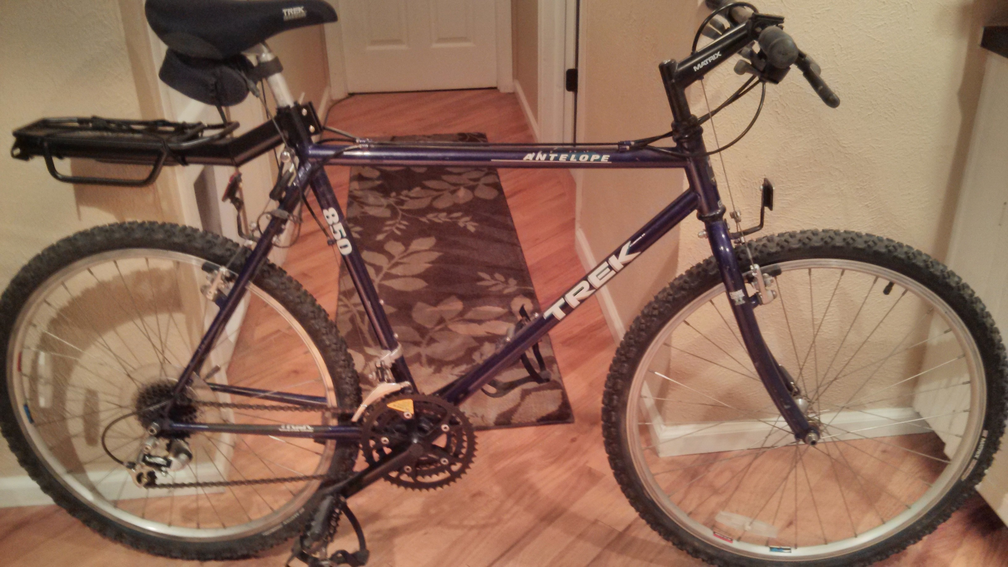 1992 Trek 850 starting point.
